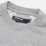 Barbour Pryce Crew Sweatshirt Grey Marl photo- 1