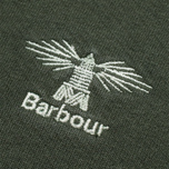 Мужская толстовка Barbour Standards Crew Forest Green фото- 2