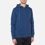 Мужская толстовка Barbour Standards Hoodie Inky Blue фото- 0