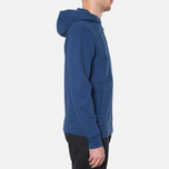 Мужская толстовка Barbour Standards Hoodie Inky Blue фото- 1