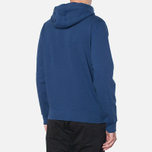 Мужская толстовка Barbour Standards Hoodie Inky Blue фото- 2
