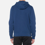 Мужская толстовка Barbour Standards Hoodie Inky Blue фото- 3