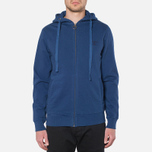 Мужская толстовка Barbour Standards Hoodie Inky Blue фото- 4