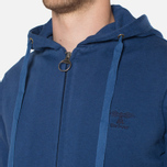 Мужская толстовка Barbour Standards Hoodie Inky Blue фото- 5