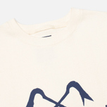 Bleu De Paname Logo #2 Jersey Men`s Sweatshirt Ecru photo- 1