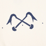 Мужская толстовка Bleu De Paname Logo #2 Jersey Ecru фото- 2