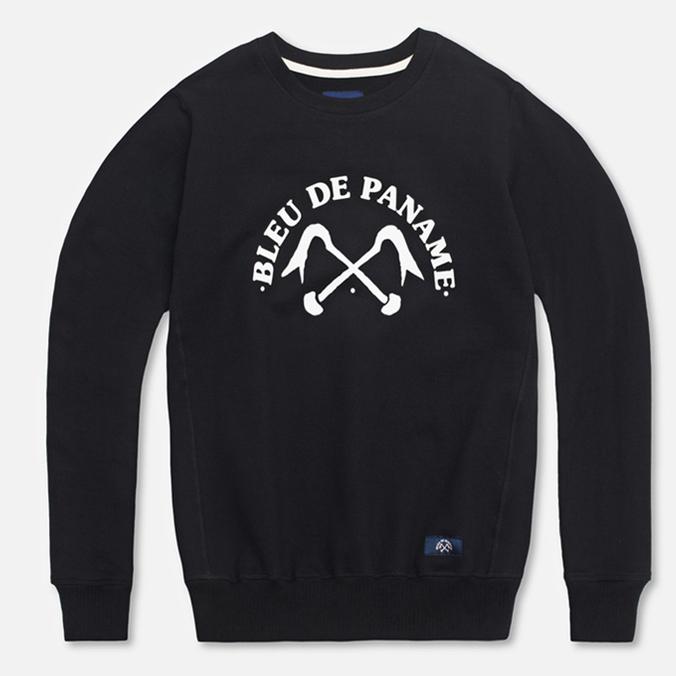 Мужская толстовка Bleu De Paname Uni Logo Bleu Noir