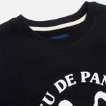 Мужская толстовка Bleu De Paname Uni Logo Bleu Noir фото- 1