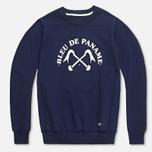 Мужская толстовка Bleu De Paname Uni Logo Bleu Nuit фото- 0