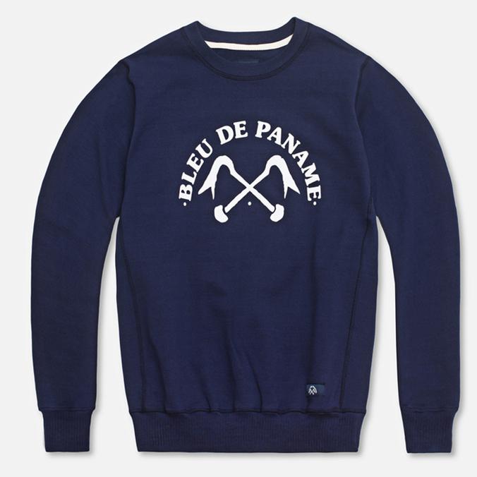 Мужская толстовка Bleu De Paname Uni Logo Bleu Nuit
