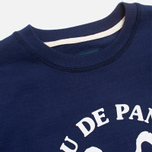 Мужская толстовка Bleu De Paname Uni Logo Bleu Nuit фото- 1