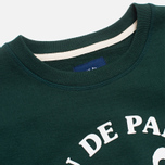Мужская толстовка Bleu De Paname Uni Logo Vert Sapin фото- 1