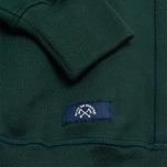 Мужская толстовка Bleu De Paname Uni Logo Vert Sapin фото- 2