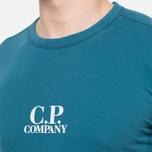 C.P. Company Basic Logo Crew Turquoise photo- 4