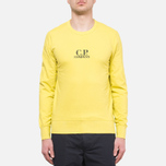 C.P. Company Basic Logo Crew Yellow photo- 5