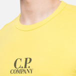 C.P. Company Basic Logo Crew Yellow photo- 4
