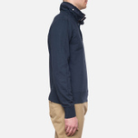 C.P. Company Concealed Half Button Hoody Navy photo- 1
