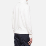C.P. Company Concealed Half Button Hoody Neutral photo- 2