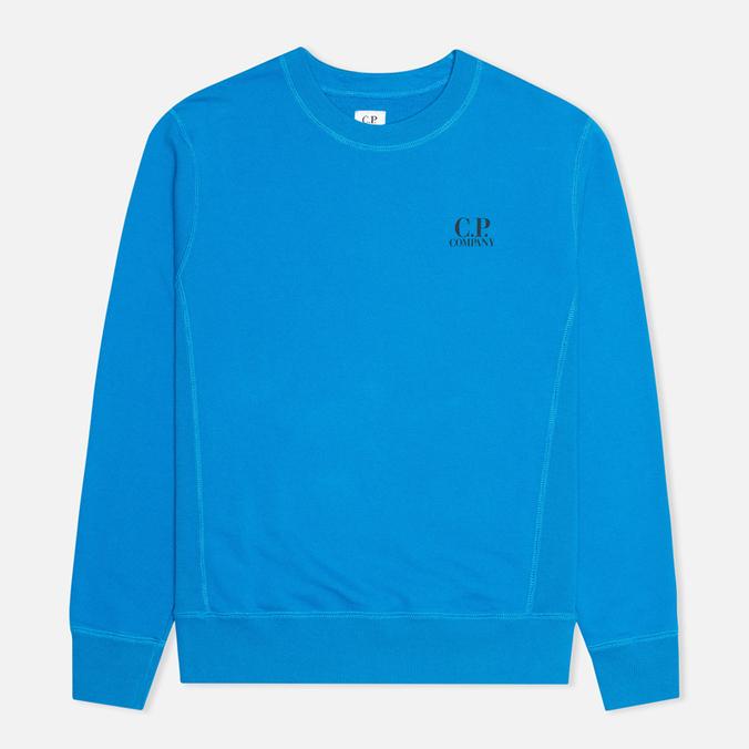 Мужская толстовка C.P. Company Crew Neck Goggle Print Blue