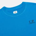 Мужская толстовка C.P. Company Crew Neck Goggle Print Blue фото- 2