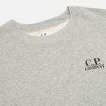 C.P. Company Crew Neck Goggle Print Men`s  Sweatshirt Grey photo- 2