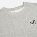 Мужская толстовка C.P. Company Crew Neck Goggle Print Grey фото- 2