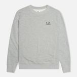 C.P. Company Crew Neck Goggle Print Men`s  Sweatshirt Grey photo- 0