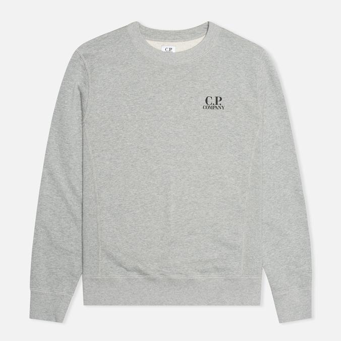 Мужская толстовка C.P. Company Crew Neck Goggle Print Grey