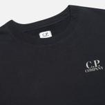 Мужская толстовка C.P. Company Crew Neck Goggle Print Navy фото- 2