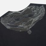 Мужская толстовка C.P. Company Crew Neck Goggle Print Navy фото- 1