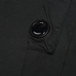Мужская толстовка C.P. Company Fleece Crew Neck Arm Lens Black фото- 2