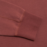 Мужская толстовка C.P. Company Fleece Crewneck Burgundy фото- 4