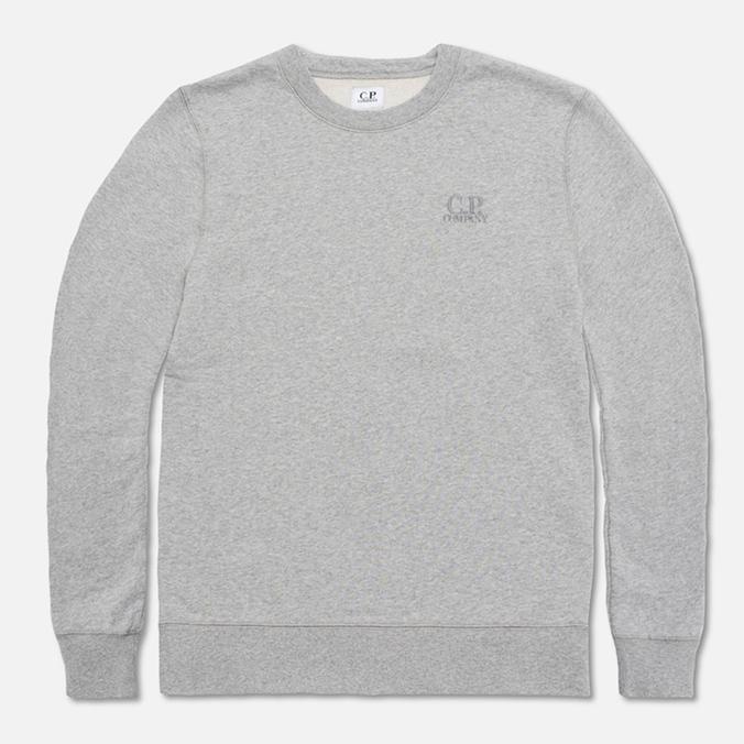Мужская толстовка C.P. Company Fleece Crewneck Grey