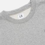 Мужская толстовка C.P. Company Fleece Crewneck Grey фото- 2