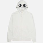 Мужская толстовка C.P. Company Fleece Goggle Light Grey фото- 0