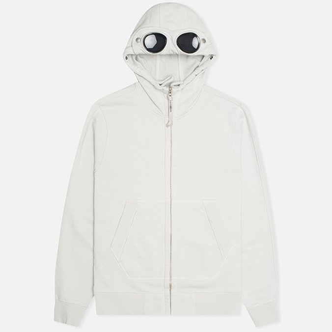 Мужская толстовка C.P. Company Fleece Goggle Light Grey