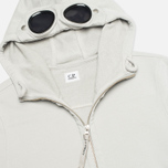 Мужская толстовка C.P. Company Fleece Goggle Light Grey фото- 1
