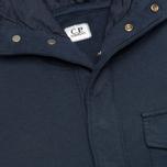 Мужская толстовка C.P. Company Garment Dyed Light Fleece Dark Blue фото- 2