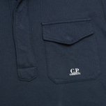 Мужская толстовка C.P. Company Garment Dyed Light Fleece Dark Blue фото- 1
