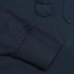 Мужская толстовка C.P. Company Garment Dyed Light Fleece Dark Blue фото- 3