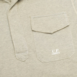 Мужская толстовка C.P. Company Garment Dyed Light Fleece Grey фото- 1