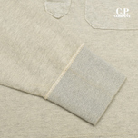 Мужская толстовка C.P. Company Garment Dyed Light Fleece Grey фото- 3