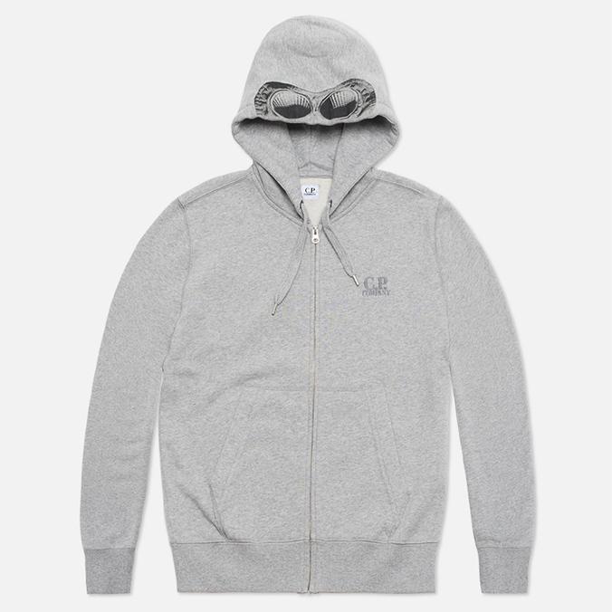Мужская толстовка C.P. Company Goggle Print Hood Grey