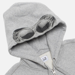 Мужская толстовка C.P. Company Goggle Print Hood Grey фото- 1