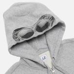C.P. Company Goggle Print Hoody Grey photo- 1