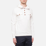 C.P. Company Half Button Sweat Neutral photo- 0