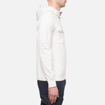 C.P. Company Half Button Sweat Neutral photo- 1