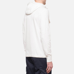 C.P. Company Half Button Sweat Neutral photo- 2