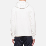 C.P. Company Half Button Sweat Neutral photo- 3