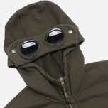 Мужская толстовка C.P. Company Mako Fleece Goggle Hood Olive фото- 1